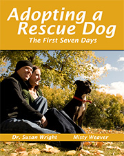 Adopting a Rescue Dog Front Cover